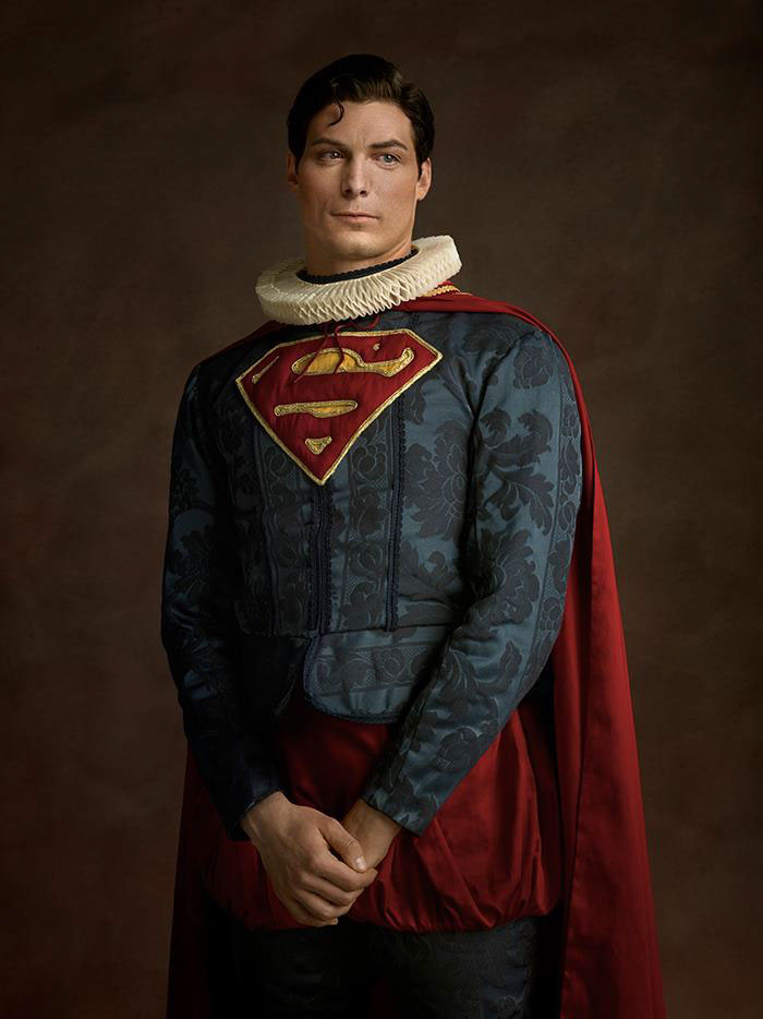 SUPERHERO PORTRAITS IN THE STYLE OF DUTCH MASTERS - W.I.R.E.